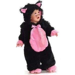 Pink Kitten Halloween Costume